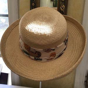 Cappelli Beige Straw  Hat 21.75